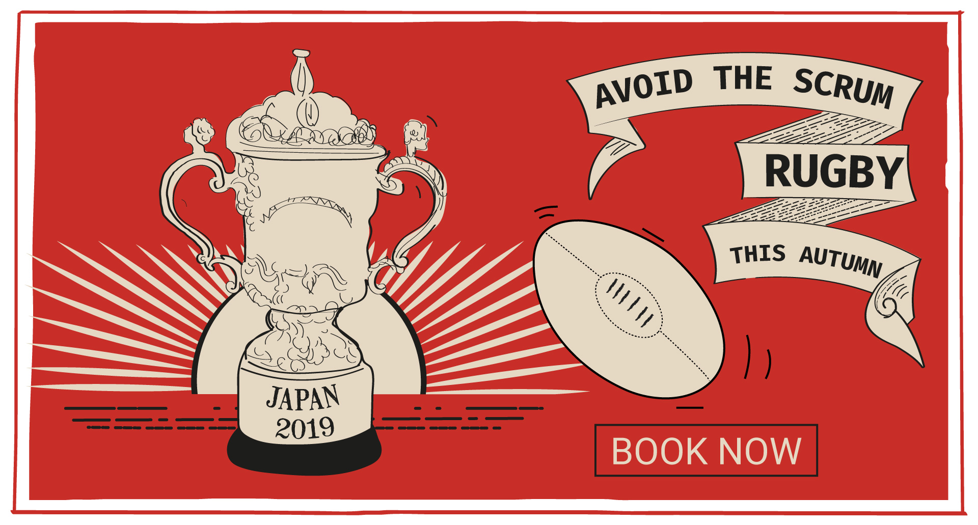 Rugby World Cup at The Railway Tavern